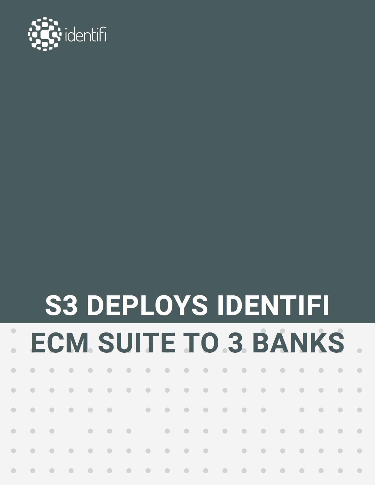S3 Deployment of Identifi